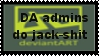 Da admins stamp by Italian-Blackshirt