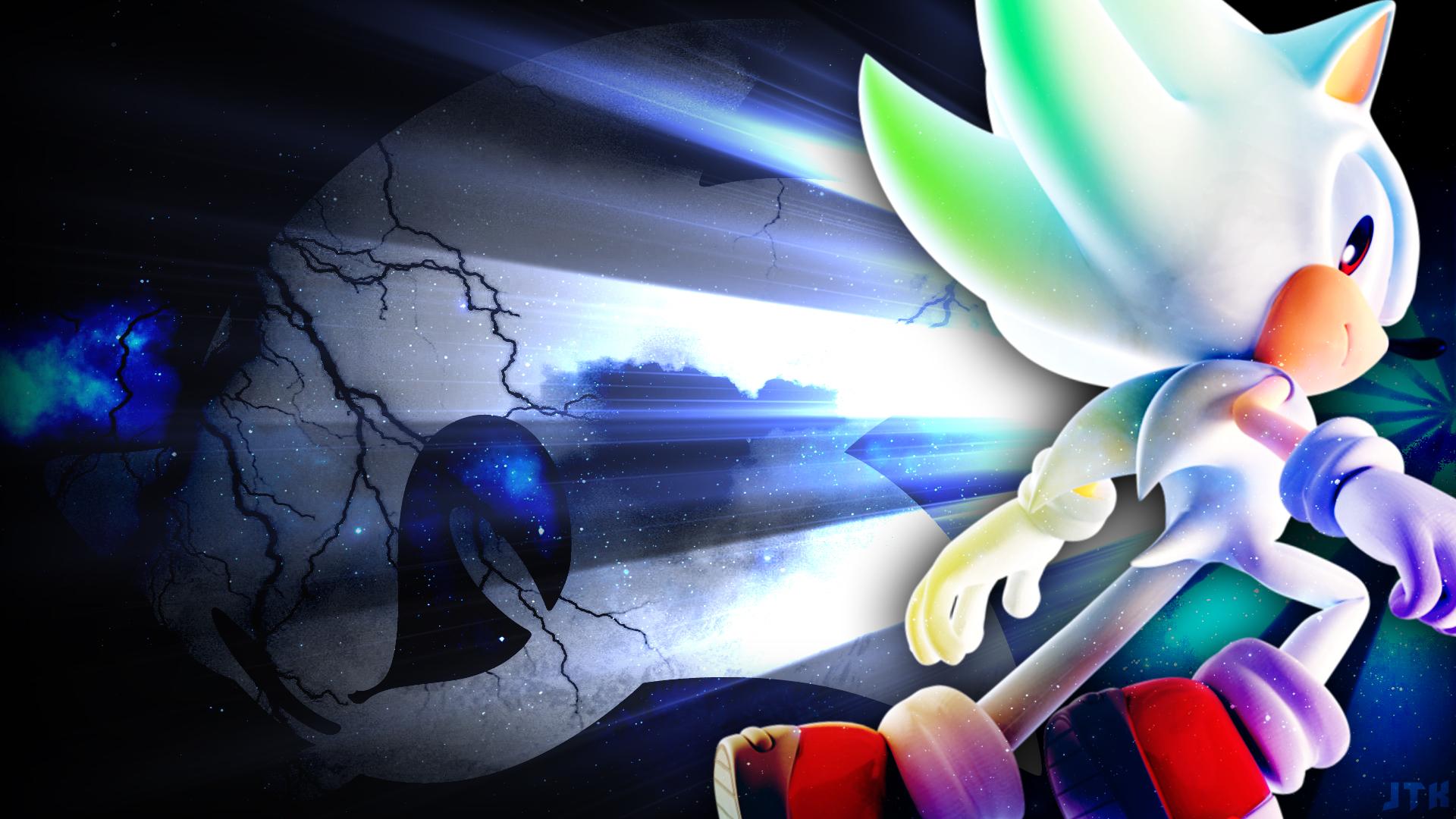 Hyper Sonic Wallpaper By Jacktheknight On Deviantart