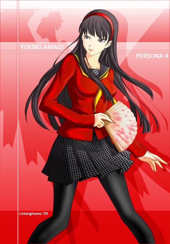 Yukiko Amagi - Persona 4 by lintanghaseo
