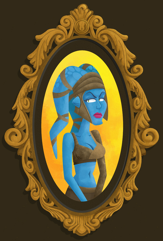 Aayla Secura Print by yooki42