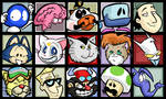 Cartoon n Videogame Characters