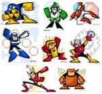 Mega Man 2's Eight Bosses