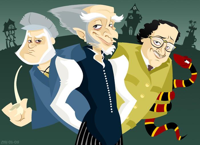 Olaf, Olaf, and Count Olaf by yooki42 on DeviantArt