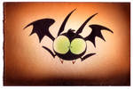 Halloween Bat by yooki42