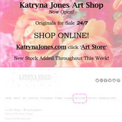 Katryna Jones Art Shop Now Open Online!