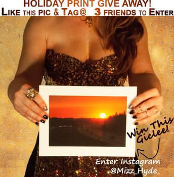 Holiday Art Print Giveaway !!