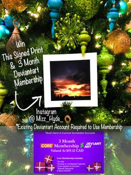 Giveaway #3 !! Win a Deviantart 3 month Membership