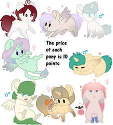 MLP Adopt OPEN [10 points] by Turquoisecharcoal
