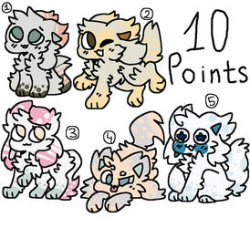 Kittydogs [10 points Adopt] OPEN by Turquoisecharcoal