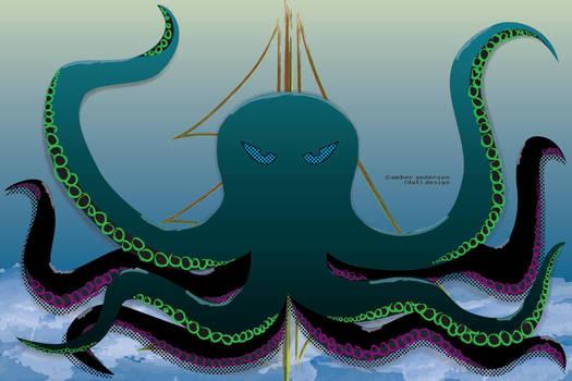 Soul Eater Octopus / Nautical Creature