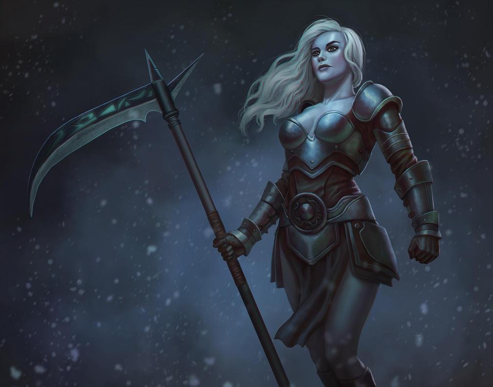 warrior by Zhenilex