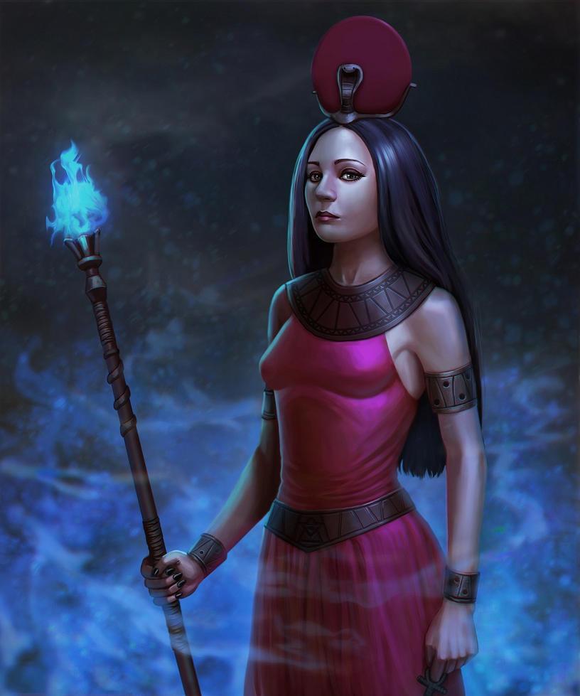 Sekhmet by Zhenilex