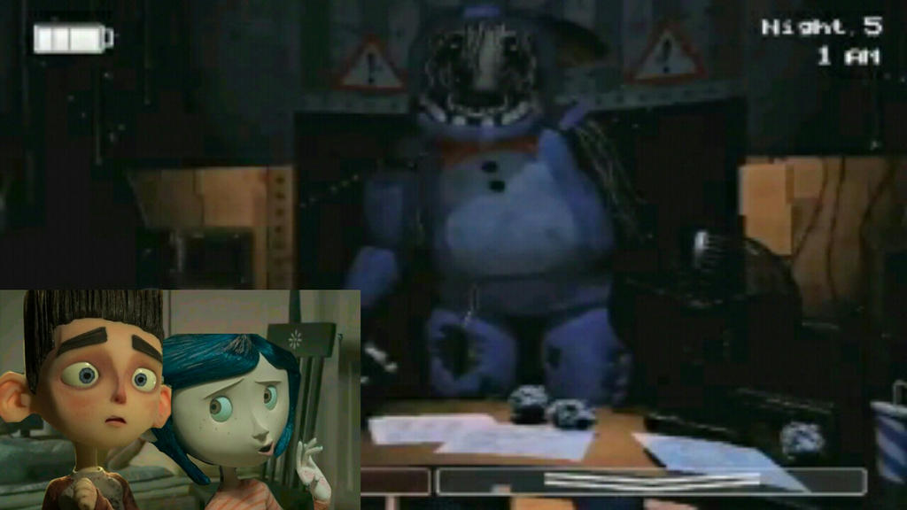 Norman and Coraline play Five nights at Freddy's 2 by ...
