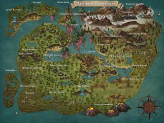 Damietul / Jarigawaa - MAP by Ashen-Oni-Creations
