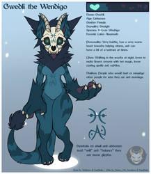 Custom Adopt - Wendigo #1 by Ashen-Oni-Creations