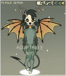 Adopt - Demon #1 by Ashen-Oni-Creations