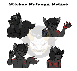 Patreon Prizes 1 by Ashen-Oni-Creations