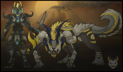 Trade - Warriors of the Flames by Ashen-Oni-Creations