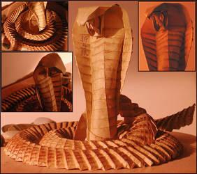 origami cobra