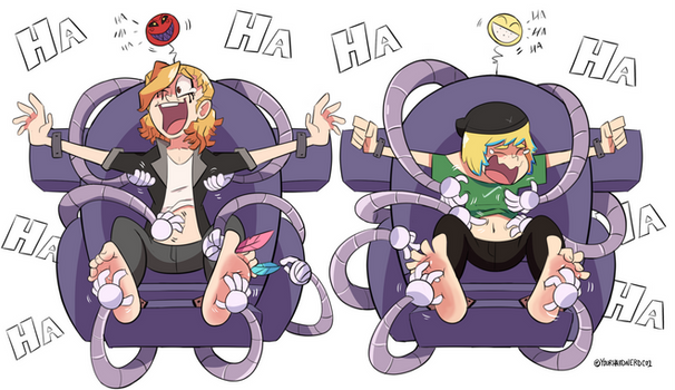 Felix and Lex's Ticklish Torment~