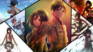 Wallpaper Shingeki No Kyojin