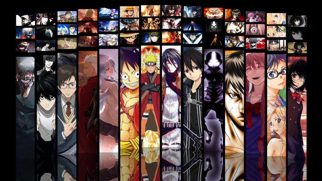 Anime collage by Dinocojv on DeviantArt
