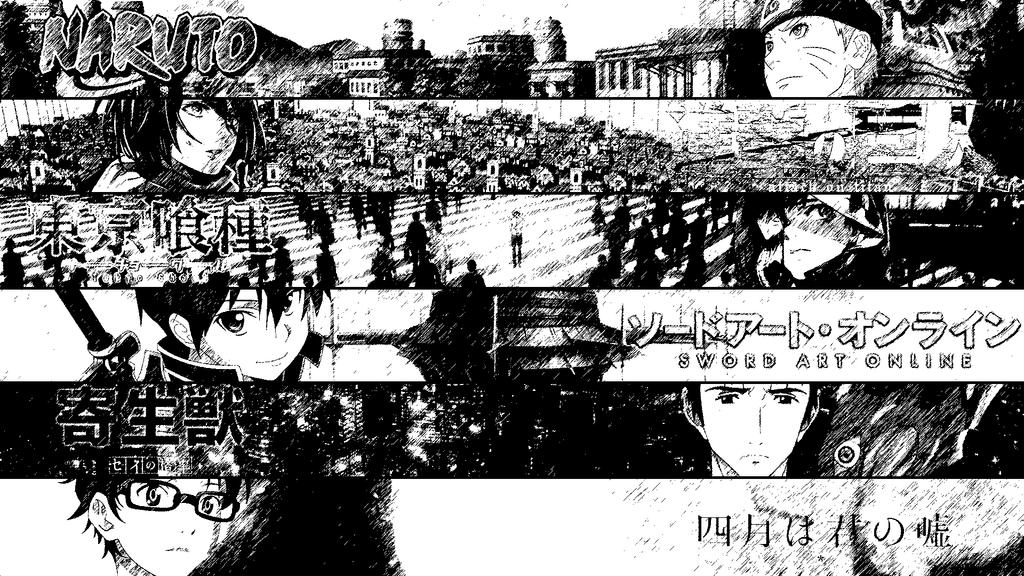 Anime Collage  Manga By Dinocojv