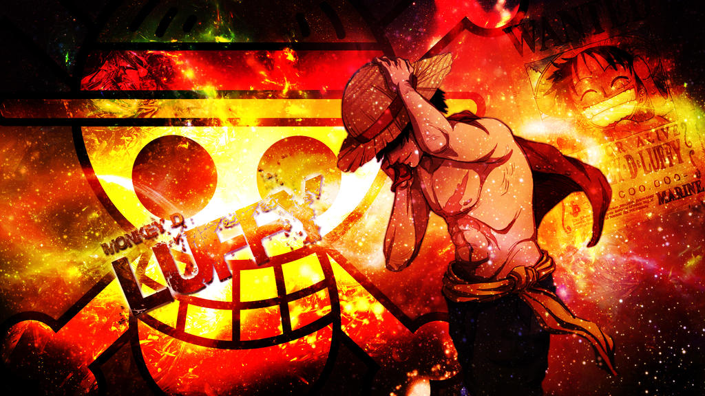 Luffy Wallpaper by Dinocojv on DeviantArt