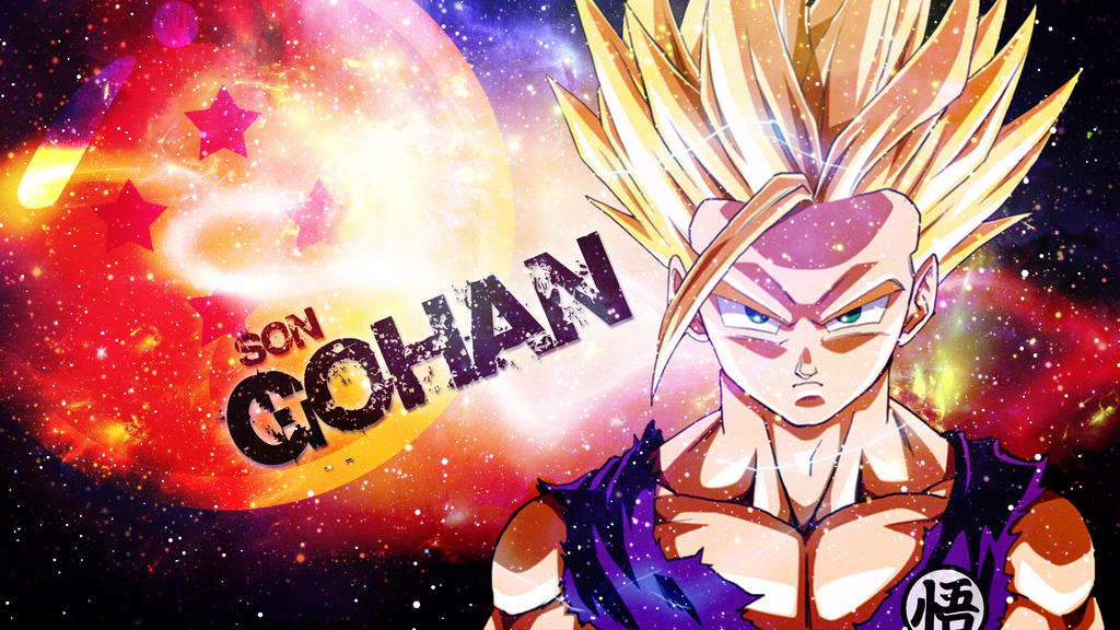 Gohan wallpaper by dinocojv on deviantart - Teen gohan wallpaper ...