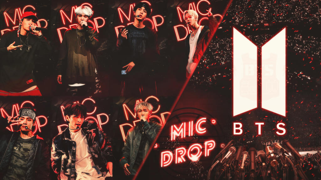 bts mic drop wallpaper by dinocozero dbup3d0