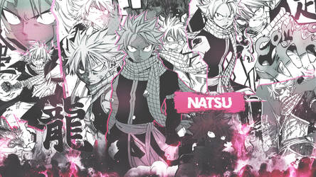 Natsu Wallpaper by DinocoZero