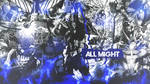 All Might Wallpaper by DinocoZero