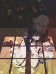 Violet Evergarden -- Sadness by DinocoZero