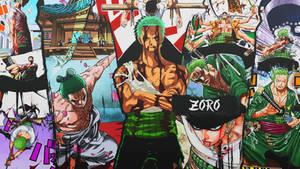 Zoro Color Wallpaper