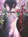 Shinobu Kochou -- Torii by DinocoZero