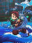 Tanjiro -- Water Breath