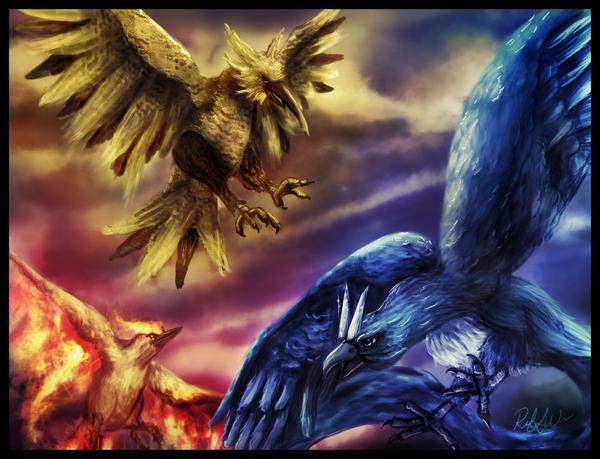 [Resim: Legendary_Birds_by_miss_ninja.png]