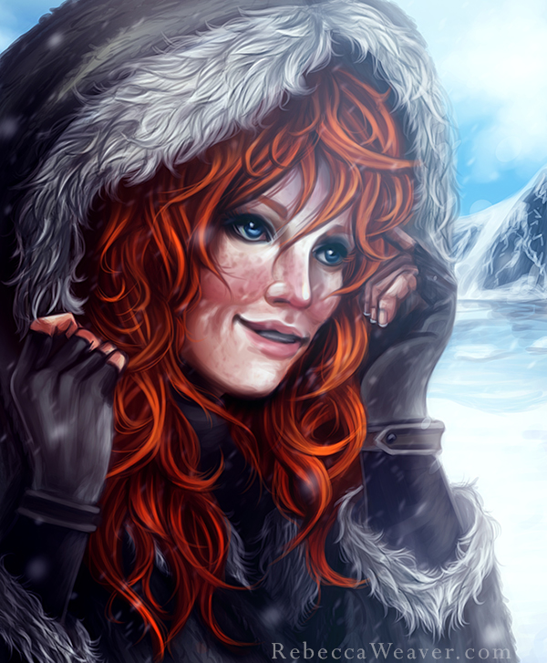 Kissed By Fire by RebeccaWeaver