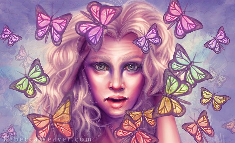 Butterflies by RebeccaWeaver