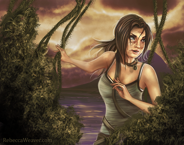 Lara Croft by RebeccaWeaver