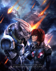 There's No Shepard Without Vakarian by RebeccaFrank