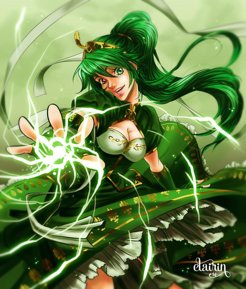 -:- Tyrande : the green enchantress -:- by Elairin