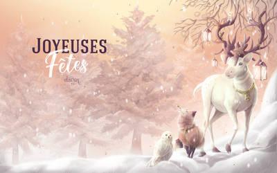 Christmas Card - 2017 by Elairin