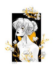 -:- Foil Print - Magnolia -:- by Elairin