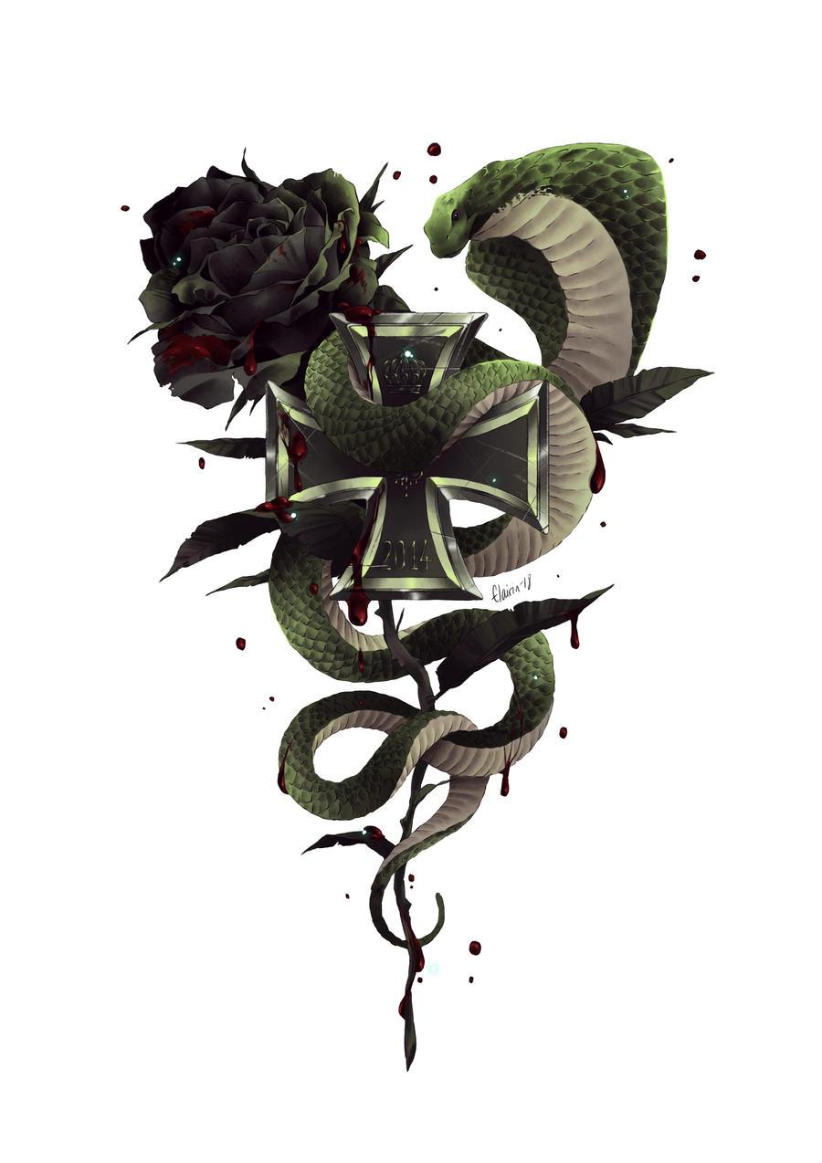 -:- COM : Rose and Snake -:-