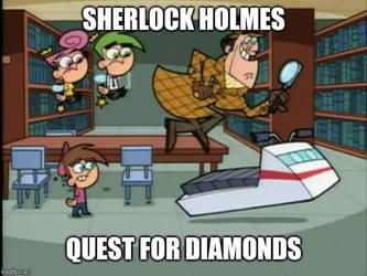 Sherlock Holmes's Quest by NurFaiza
