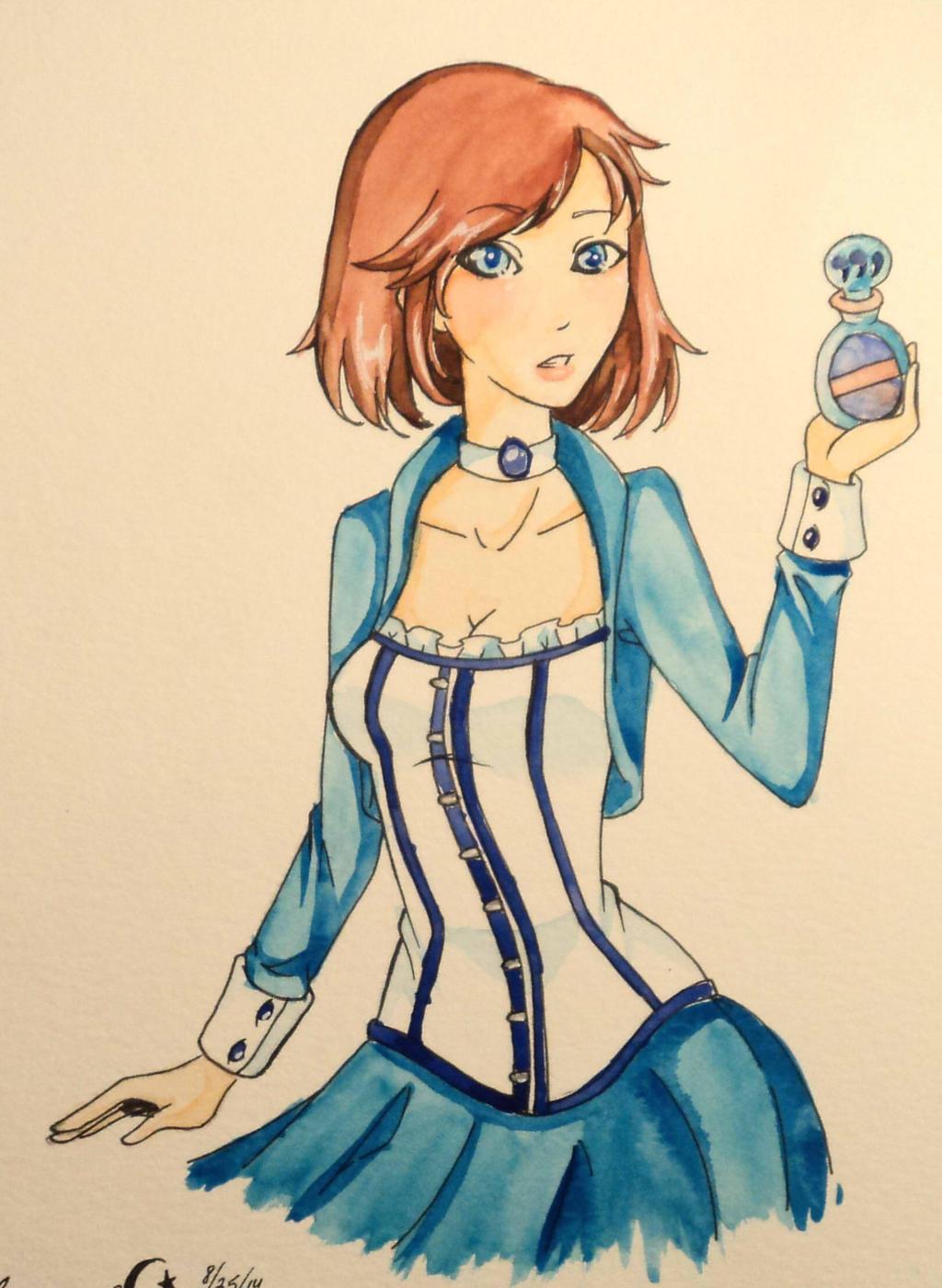Elizabeth: Bioshock Infinite by LunaOfWater
