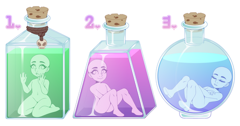 Potion Chibi YCH (CLOSED!)