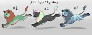-Bison Adoptables-  OPEN 