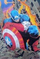 captain america by RafaelAvd